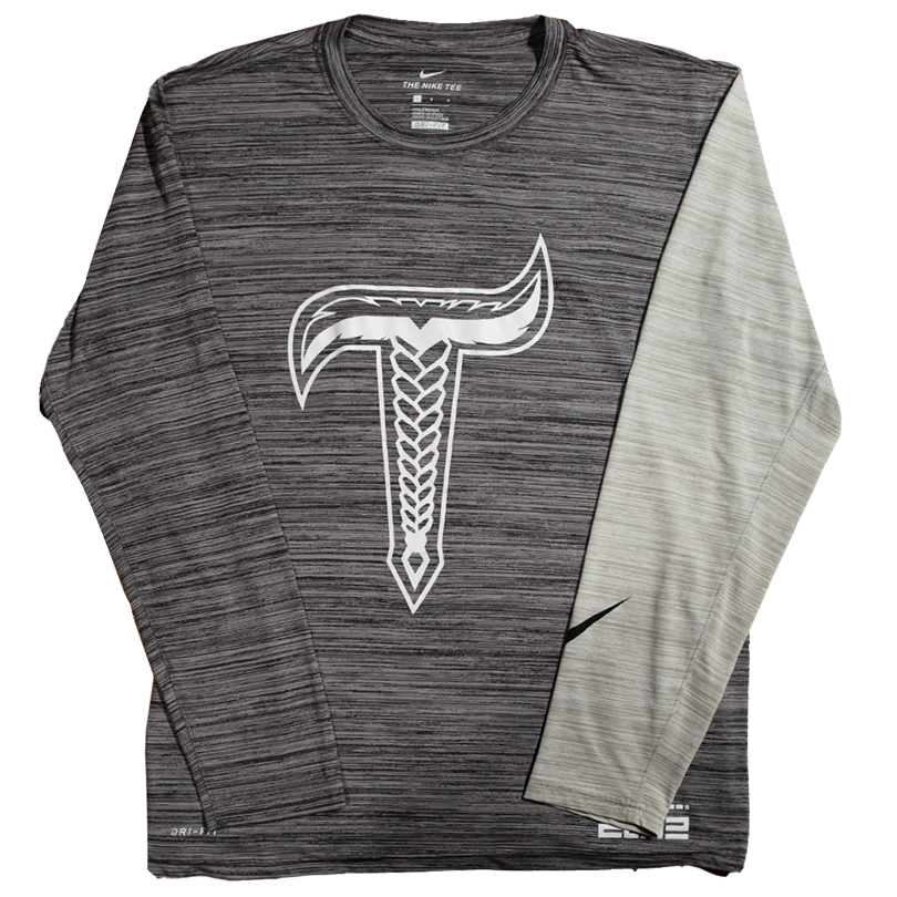 T Long sleeve Charcoal