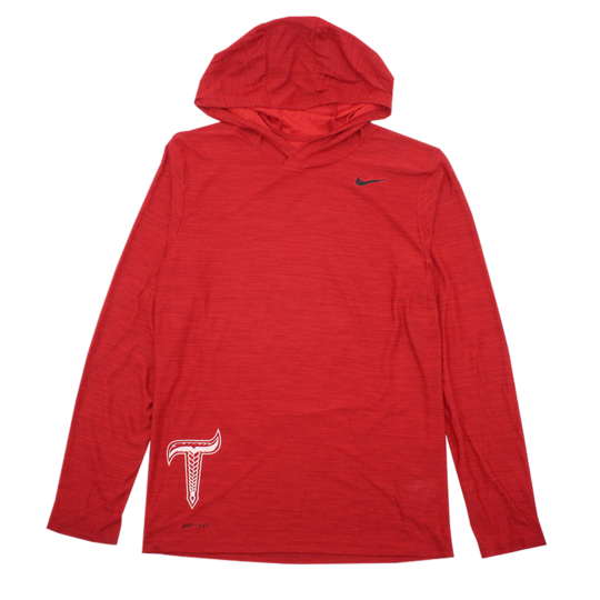Red Dri-FIT Pullover