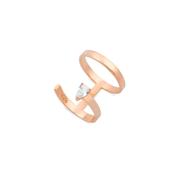 RING KATE ROSE GOLD