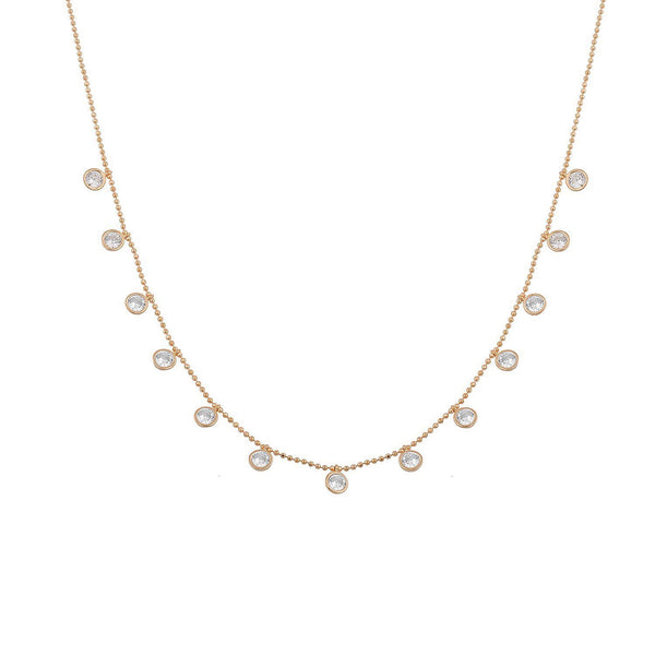 CHOKER gigi rose gold