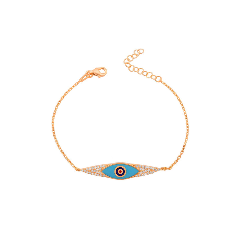bracelet eyes reef rose gold