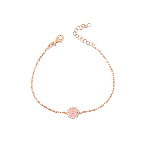 bracelet MINI EYES PINK ROSE GOLD