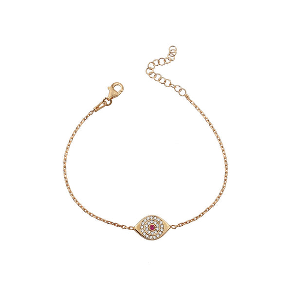 ANABELLE EYES ROSE GOLD BRACELET