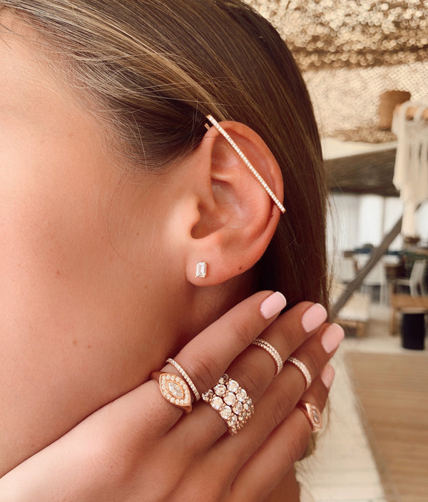 Loui rose gold Earring
