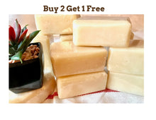 Organic Goat Milk Soap | Unscented | Buy 2 Get 1 Free!