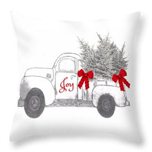 Holiday Joy Chesilhurst Farm - Throw Pillow