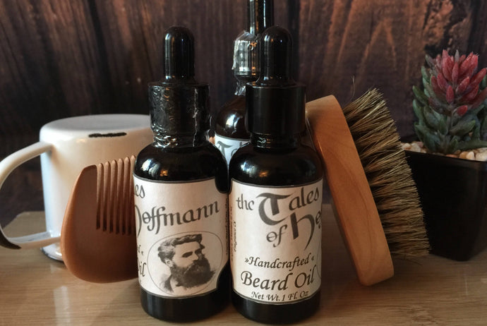 Conditioning Beard Oil - Four Intoxicating Scents- Chesilhurst Farm