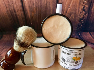 Havana Nights Bay Rum & Key Lime  Foaming Shave Soap + Cup