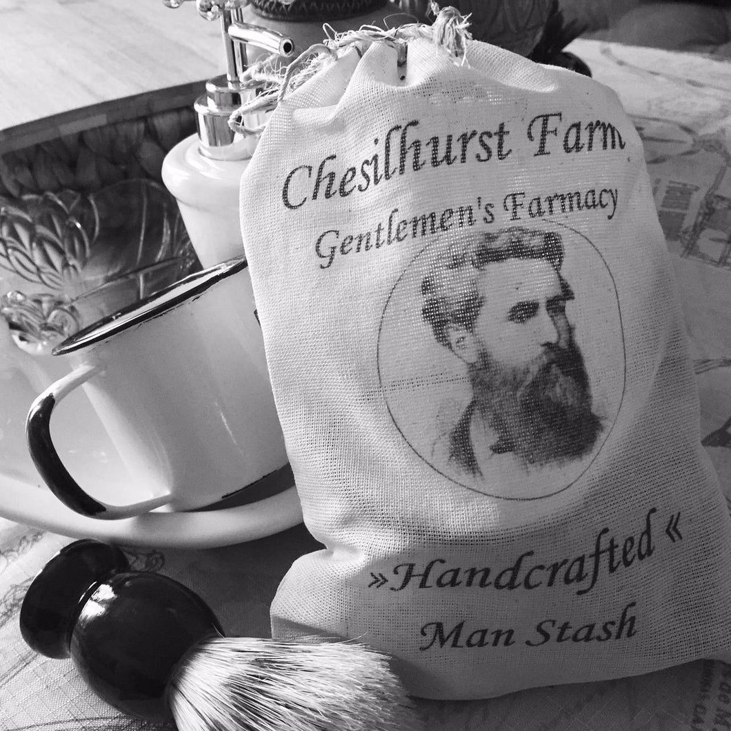 Man Stash Shave Kit