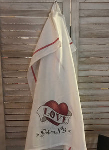 Love Potion No. 9 -  Farmhouse Dish Towel