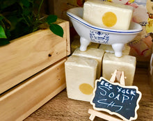 Eggcellent Egg Yolk Soap - Free-Range Organic Egg Yolk Soap - Soap Farmacy - Fragrance Free- Chesilhurst Farm