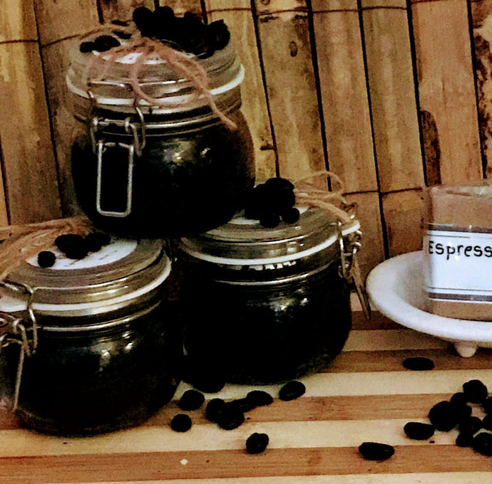 Espresso Body Polish Coffee Scrub - Skin Farmacy - Chesilhurst Farm