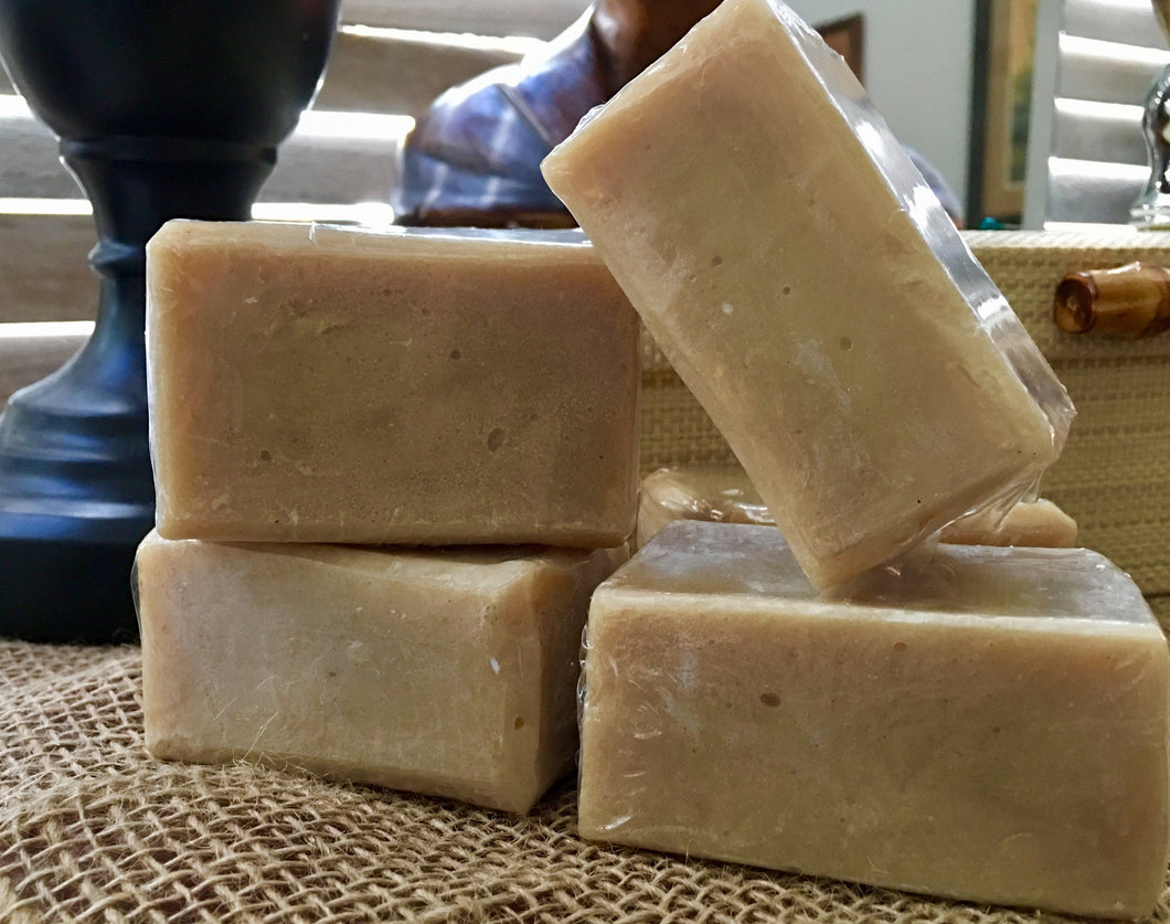Handcrafted Honey Oat & Coconut Milk Soap  | Unscented