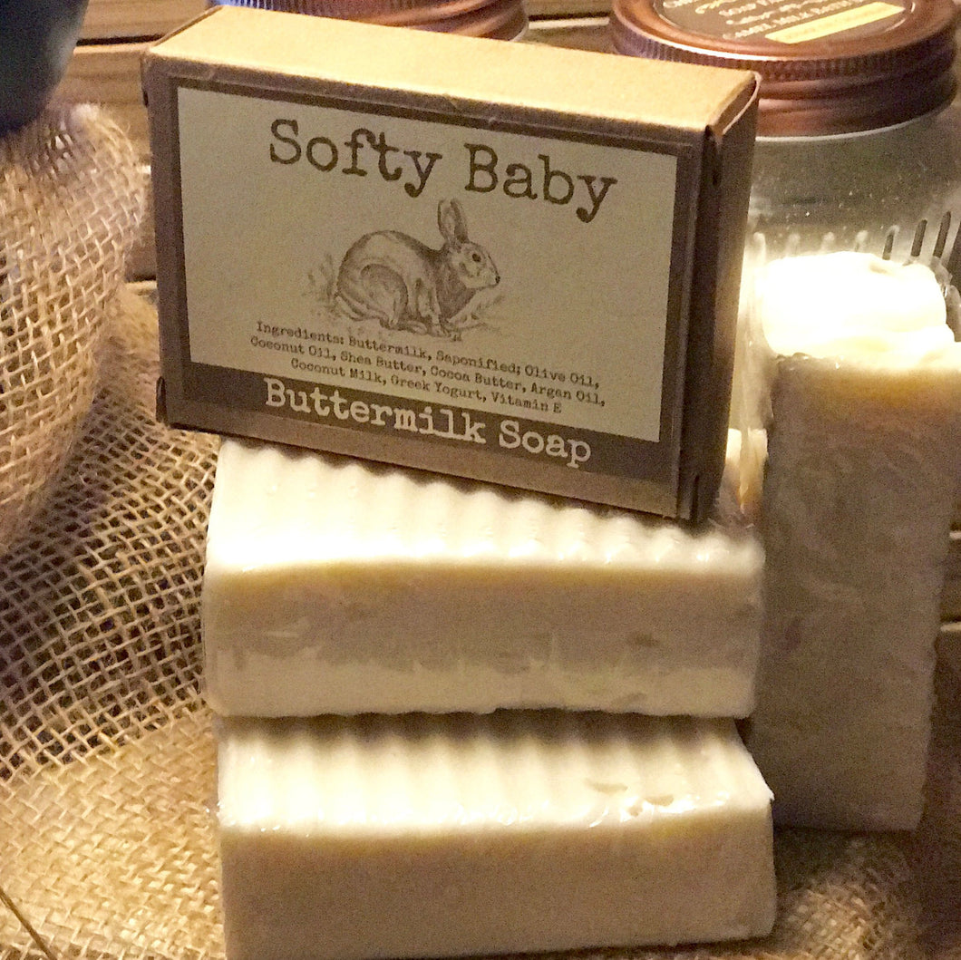 Organic Buttermilk Baby Soap - Softy Baby