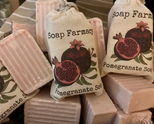 Pomegranate Goat Milk Soap | Unscented