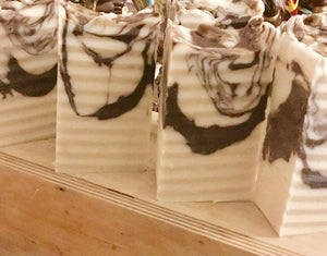 Organic Black Osun Goat Milk Soap | Unscented