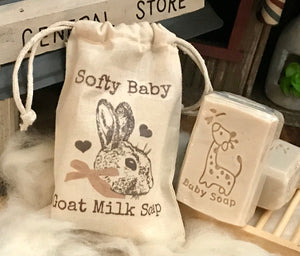 Creamy Organic Goat Milk Baby Soap | Buy 2 Get 1 Free - 3 Pack