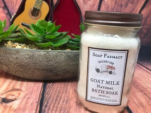 Goat Milk Argan Oil Bath Soak
