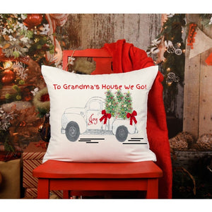"Grandma's House Pillow Cover  | 20"" x 20"" 