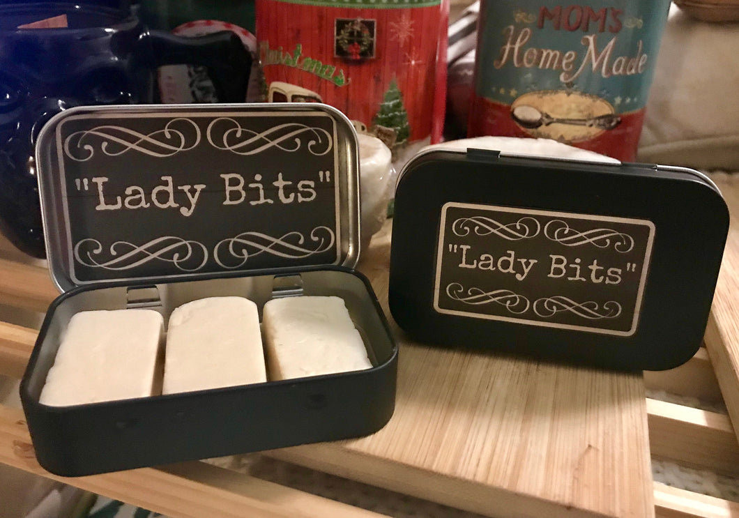 Feminine Hygiene Lady Bits Travel Soap Organic Apple Cider Vinegar Soap