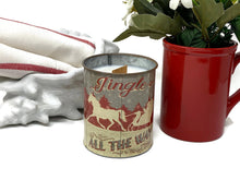 Soy Wax Candle | Fireplace In A Can | Wood Wick Candle