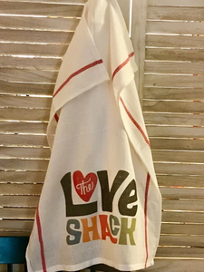 The Love Shack Kitchen Towel