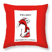 Monsieur - Throw Pillow