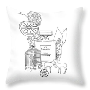 N0.5 - Throw Pillow