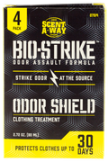 Scent-A-Way Bio Strike Ordor Shield Clothing Treatment 4pk