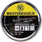 Pellets: RWS Meisterkugeln .177 53gr Yellow Pellets