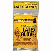 hunters specialties Latex Gloves #01058