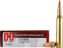 Hornady Superformance 270 130gr SST #80543
