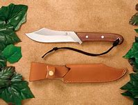 Grohnamnn knives #R108S Deer & Moose Rosewood Sheath