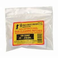 Pro Shot 22-270 Cal 100ct Patches #101