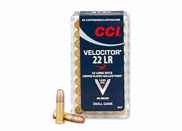 CCI Velocitor 22LR Speer Gold Dot HP