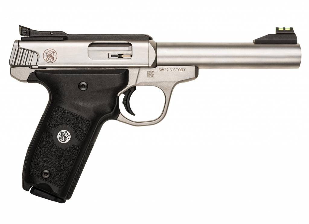 "Smith & Wesson SW22 Victory c22 LR 5.5"" BBL STS"