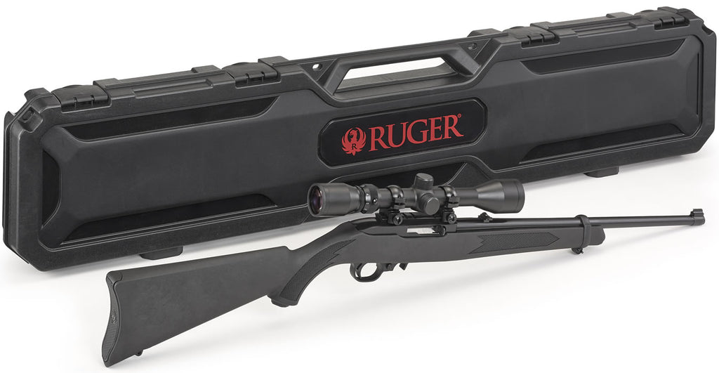 Shotguns/Rifles: Ruger 10/22 Carbine Semi Auto 22LR