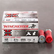 "Winchester 12ga, 2 3/4"", #4 Heavy Game Loads"