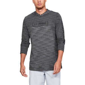 UA: Men's Seamless Fish Hunter Hoodie, Grey