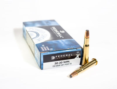Federal  30-30 Win 150gr Soft Point FN