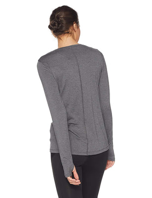 UA: Women's HG Armour Long Sleeve, Grey