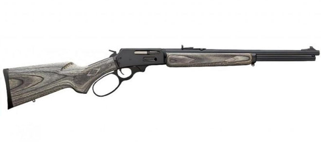 Marlin 336W .30-30 Cal Blk/Gry/ Lam Stk Big Loop 20""