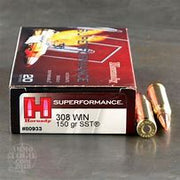 Hornady 308 Win 150gr SST Superformance Accurate