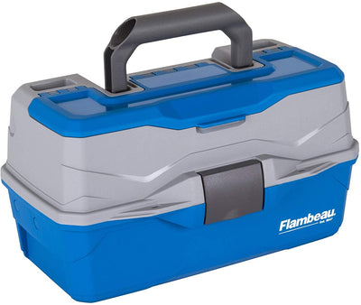 Flambeau 2 Tray Tackle Box Blue