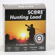 "Score Hunting Load 12Ga 1 1/4oz 2 3/4"" #4 Shot Lead"