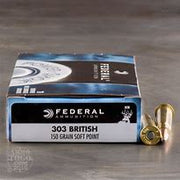 Federal 303 Brit 150gr SP Power Shok