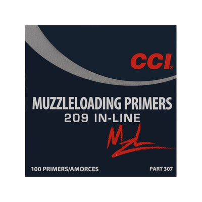 CCI 209 In Line Muzzleloader Primers 100pk