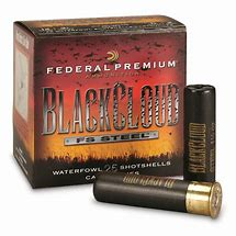 "Federal Premium Black Cloud 12ga, 3"", 1 1/4oz, #2 FS Steel"