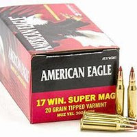 Federal A.E 17WSM 20gr Super Mag Tipped
