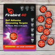 Firebird40 Detonating Targets & Sticker PLate for Air Rifles